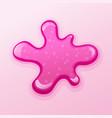 colorful glitter slime blob vector image