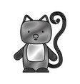 cute and tender cat vector image vector image
