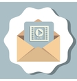 Email sending and electronic communications vector image