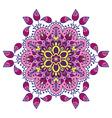 Hand drawing zentangle mandala element in vector image vector image