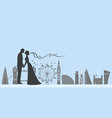 london wedding and love vector image vector image