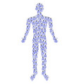 nippers person figure vector image vector image