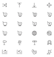 User Interface Icons 25 vector image vector image