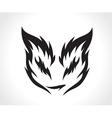 Beautiful cat vector image
