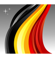 Belgium flag background vector image vector image