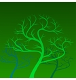 green trees on background vector image vector image