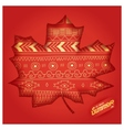 The indian summer time vector image vector image