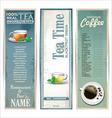 Menu for restaurant cafe bar coffeehouse tea house vector image