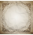 Aged paper texture vector image
