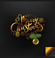 christmas banner background xmas design with vector image