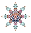 Colorful arabesque ornament for your design vector image