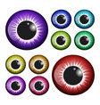 eye pupil iris symbol icon design beautiful vector image vector image