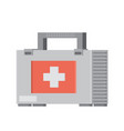 first aid kit flat vector image