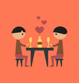 flat icon on stylish background gay romantic vector image vector image