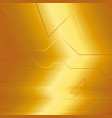golden abstract electron energy line on brushed vector image