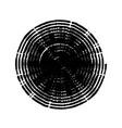 grunge spiral stamp vector image vector image