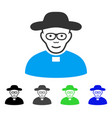 joy church shepherd icon vector image vector image