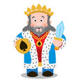 king of spades cartoon characters vector image