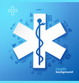 medicine and health background vector image vector image