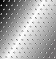 Metal Background Or Texture Of Brushed Steel Plate vector image vector image