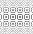 Seamless monochrome ethnic pattern vector image vector image