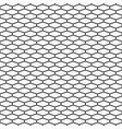 abstract seamless pattern of elongated hexagons vector image