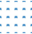 field icon pattern seamless white background vector image vector image