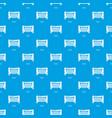 goal soccer pattern seamless blue vector image