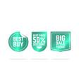 premium labels sales vector image vector image