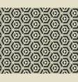 retro wallpaper - vintage pattern black and white vector image vector image