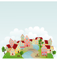 Cute town vector | Price: 1 Credit (USD $1)