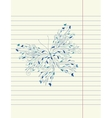 Hand drawing sketch butterfly vector image vector image