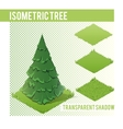 Isometric Tree 003 vector image vector image