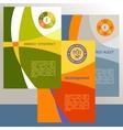 logo energy efficiency Diagram of growth vector image