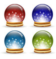 magic globe vector image
