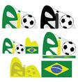 Rio de Janeiro graphic vector image vector image