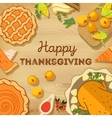 Thanksgiving Day Autumn vector image vector image