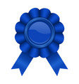 blue award badge