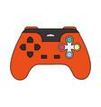 color image cartoon control video games vector image vector image