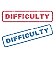 Difficulty Rubber Stamps
