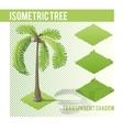 Isometric Tree 004 vector image vector image