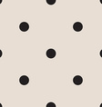 seamless patterns with white and black peas polka vector image vector image