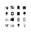 simple set of business management related vector image