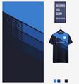 Soccer jersey pattern design geometric pattern