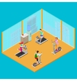 Training Apparatus and Active People vector image