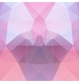 Background made of pink triangles Square vector image vector image