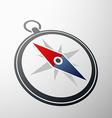 Compass logo Stock vector image vector image