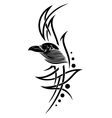 Crow raven vector image vector image