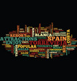 enjoy the sights intorrevieja spain text vector image vector image
