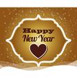 happy new year design vector image vector image